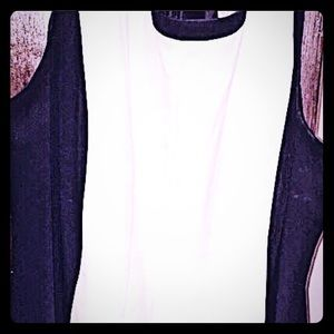Catherines Black and White Semiformal Dress